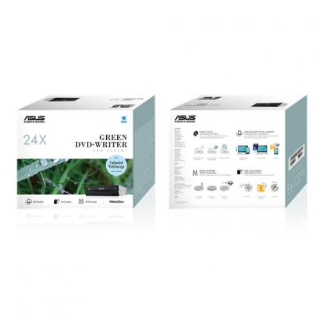 Asus DRW-24D5MT (BOX) 24x SATA DVD/CD Rewriter Optical Drive