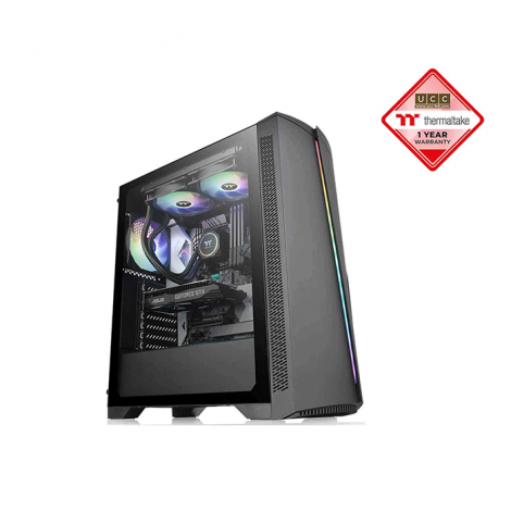 Thermaltake H350 Tempered Glass RGB Mid-Tower Window Chassis