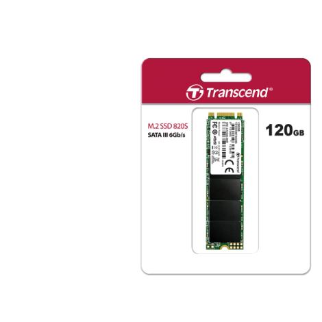 Transcend 120GB 820S M.2 2280 SATA III TLC Internal SSD