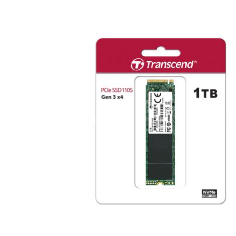 Transcend 1TB 110S NVMe M.2 2280 PCIe Gen3x4 Internal SSD